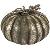 Hazelwood Home Tin Pumpkin Statue