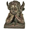 Hazelwood Home Daydreaming Cherub Statue