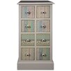 Hazelwood Home Cianna 8 Drawer Storage Chest