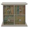 Hazelwood Home Cianna 4 Drawer Storage Chest