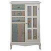 Hazelwood Home Cianna 2 Door 3 Drawer Storage Cabinet
