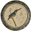 Hazelwood Home Wanddekoration Kingfisher