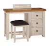 Hazelwood Home Whitby 3 Drawer Dressing Table