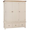 Hazelwood Home Whitby 3 Door Wardrobe