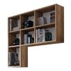 Hazelwood Home 96 cm Bücherregal Ealing