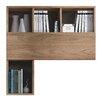 Hazelwood Home Ealing 38cm Bookcase