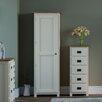 Hazelwood Home Milton Compact 1 Door Wardrobe