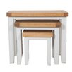 Hazelwood Home Francesca 3 Piece Nest of Tables
