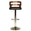 Hazelwood Home Erith Swivel Bar Stool