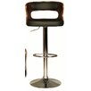 Hazelwood Home Leighton Swivel Bar Stool
