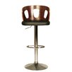 Hazelwood Home Yarm Swivel Bar Stool