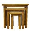 Hazelwood Home Ellie 3 Piece Nest of Tables