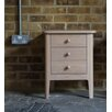 Hazelwood Home Hythe 3 Drawer Bedside Table
