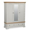 Hazelwood Home Chiltin 3 Door Wardrobe