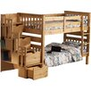 Hazelwood Home Bunk Bed with Storage