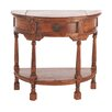 Hazelwood Home Bawtry Half Round Console Table