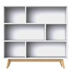Wildon Home Baffin 135 cm Bookcase