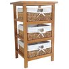 Wildon Home 3 Drawer Cabinet