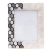 Wildon Home Burkina Hexagon Patterned Picture Frame