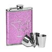 Wildon Home Pink Girls Night Out Hip Flask Set