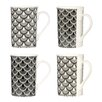 Wildon Home Deco Luxe 4 Piece Mug Set
