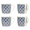 Wildon Home Flower Mugs (Set of 4)