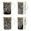 Wildon Home 4 Piece Paisley Dine Mug Set
