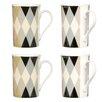 Wildon Home Circus Style Mugs (Set of 4)