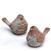 Wildon Home 2 Piece Bird Figurine Set