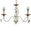 Wildon Home 3 Light Candle Chandelier