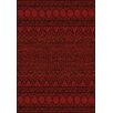 Hispania Alfombras Tanger Dark Red Area Rug