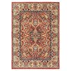 Hispania Alfombras Ibai Beige/Red Area Rug