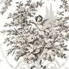 """Norwall Wallcoverings Inc Grand Chateau 32.7' x 20.5"""" Fabric Toile Wallpaper"""