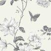 "Norwall Wallcoverings Inc English Florals 32.7' x 20.5"" Hummingbird Trail Wallpaper"