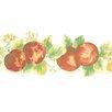 """Norwall Wallcoverings Inc Fresh Kitchens V 15' x 5"""" Lemon Apple Border Wallpaper"""