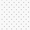 "Norwall Wallcoverings Inc Kitchen Elements 32.7' x 20.5"" Cupcake Dot Wallpaper"