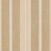 "Norwall Wallcoverings Inc Decorator Grasscloth II 32.7' x 20.5"" Cushion Stripe Wallpaper"