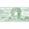 "Norwall Wallcoverings Inc Fresh Kitchens V 15' x 7"" Garden Gate Border Wallpaper"
