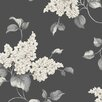 """Norwall Wallcoverings Inc English Florals 32.7' x 20.5"""" Lilac Wallpaper"""