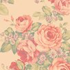 """Norwall Wallcoverings Inc Abby Rose III 32.7' x 20.5"""" Grand Floral Wallpaper"""
