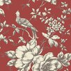 """Norwall Wallcoverings Inc Grand Chateau 32.7' x 20.5"""" Heritage Toile Wallpaper"""