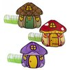 HearthSong 3 Piece Fairy Village Play Tent Set