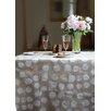 Fleur De Soleil 160 cm W x 160 cm D Round Wipe-clean Tablecloth