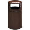 Alle Designs LLC Side Open Receptacle Trash Can with Inner Liner