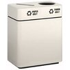 Alle Designs LLC Trash Can with Inner Liner and Labels