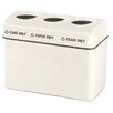 Alle Designs LLC Opening Trash Can with Inner Liner and Labels