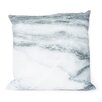 Kure Printed Marble Cotton Throw Pillow