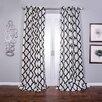 Lambrequin Trellis Bold Single Curtain Panel