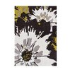 The Conestoga Trading Co. Pittsburg Hand-Tufted Black/White Area Rug