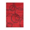 The Conestoga Trading Co. Wilderville Hand-Tufted Red Area Rug
